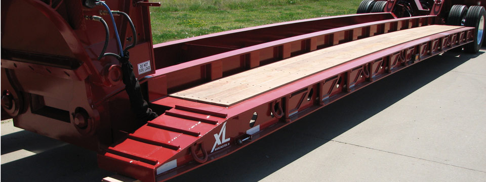 XL 102 Hydraulic Detachable Gooseneck - Dropside