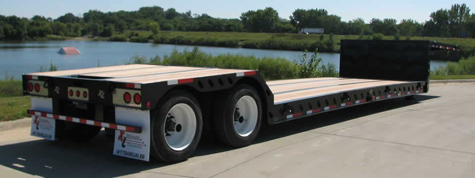 Xl Double Drop Commercial Xl Specialized Trailers Xl
