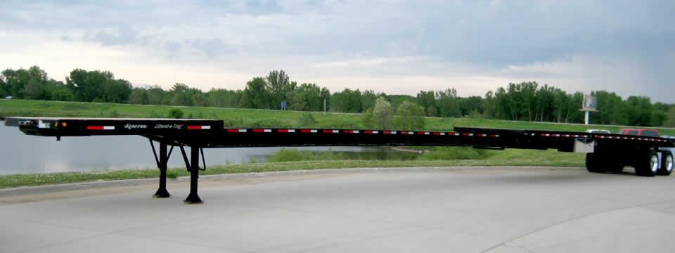 Flat Deck Trailer >> Xl Flat Deck Extendable Heavy Haul Trailer Commercial Xl
