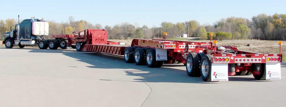 XL Hydraulic Multi-Axles Heavy Duty Trailer - Commercial