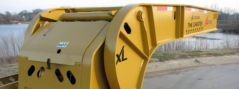 XL 110 Cheater Hydraulic Detachable Gooseneck