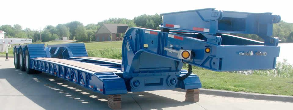 Xl Hydraulic Detachable Gooseneck Lowboy Trailer Eastern