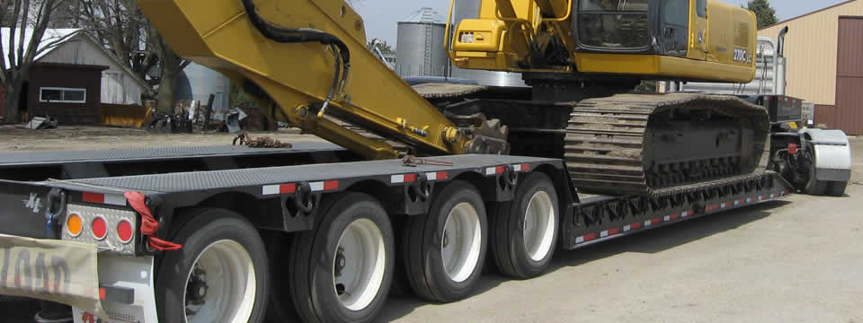 XL 100 Hydraulic Detachable Gooseneck Lowboy Trailer Lowboy