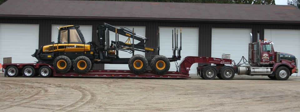 XL 100 Cheater Hydraulic Detachable Gooseneck Lowboy