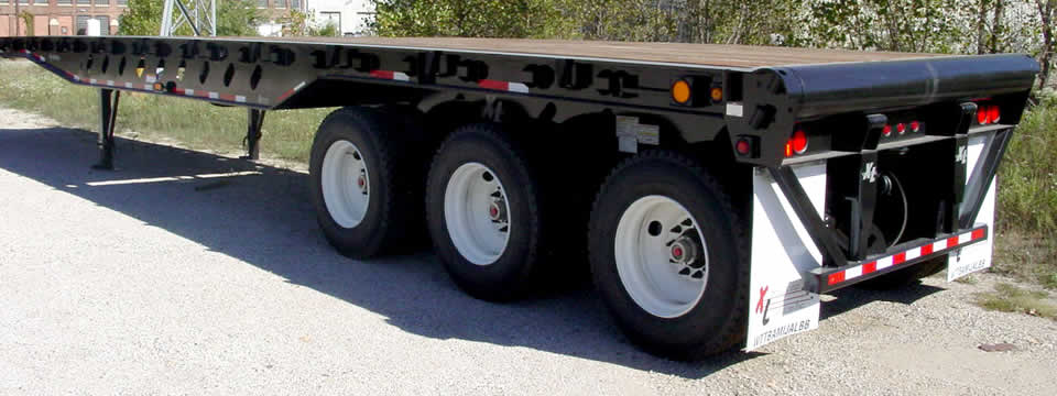 Flat Deck Trailer >> Xl Flat Deck Oil Float Heavy Duty Trailer Oil Gas Xl