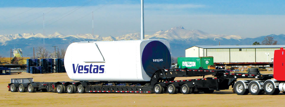 xl lightweight 13 axle east coast heavy haul trailer wind energy